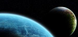 Two planets. Gilderm, http://www.sxc.hu/