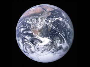 Earth from Apollo 17, NASA, 1976