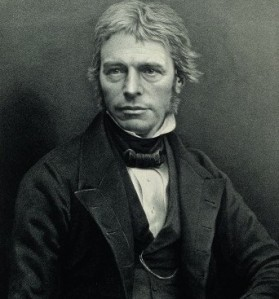 Michael Faraday. Wellcome Images (cropped), Creative Commons License 4