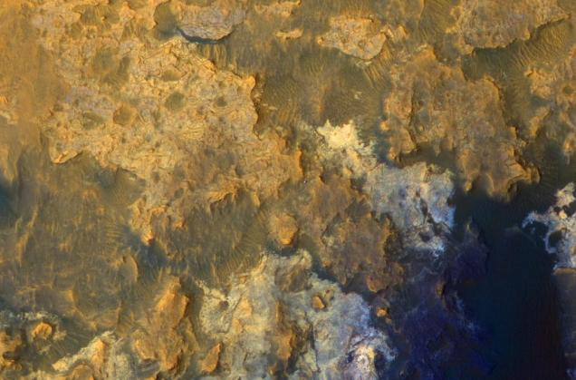Surface of Mars from the Mars orbiter, NASA/JPL-Caltech/Univ. of Arizona