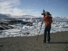 Maria Frostic – Main Iceberg Lagoon by NASA Goddard Space Flight Centre. Flickr. (CC BY 2.0)