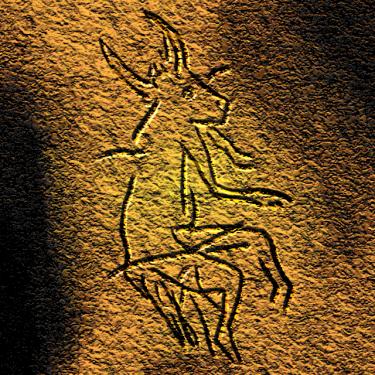 Sorcerer of Le Gabillou By José-Manuel Benito (Own work) [Public domain], via Wikimedia Commons