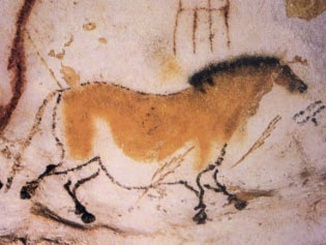 Image of a horse from the Lascaux caves. By Cro-Magnon peoples [Public domain], via Wikimedia Commons