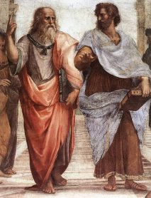 "Cropped from ""The School of Athens"" by Raphael [Public domain], via Wikimedia Commons"