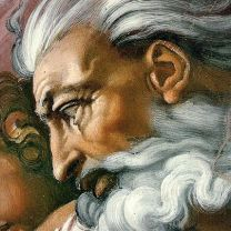 Cropped detail from: Creation of Adam by Michelangelo [Public domain], via Wikimedia Commons