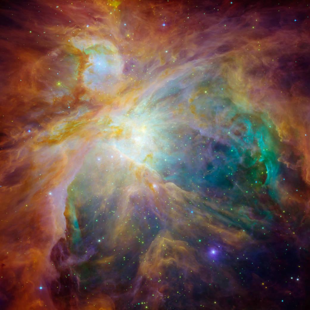 orion Nebula NASA:JPL-Caltech:STScI 162284main_image_feature_693_ys_full